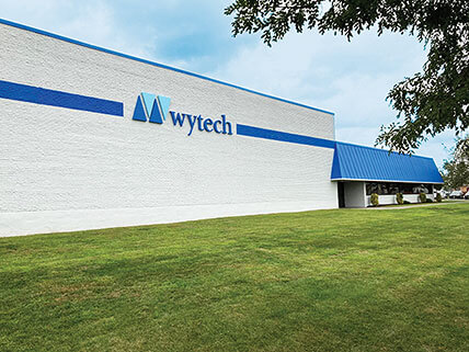 exterior view of wytech building